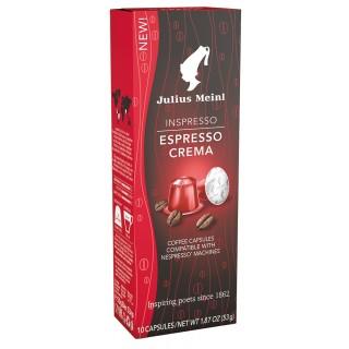 JULIUS MEINL Kaffee Kapseln Inspresso Espresso Crema 10 Stück