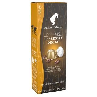 JULIUS MEINL Kaffee Kapseln Inspresso Espresso Decaf 10 Stück