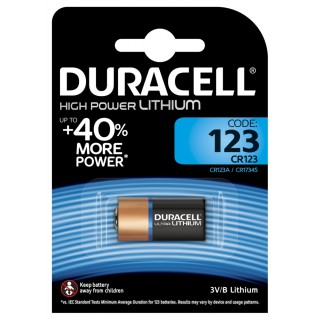 DURACELL Batterie M3 Ultra Lithium Photo 123A 3 Volt