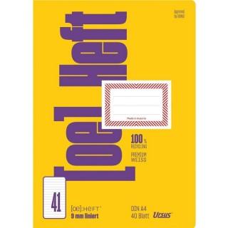 URSUS Ö-Heft A4 40 Blatt liniert