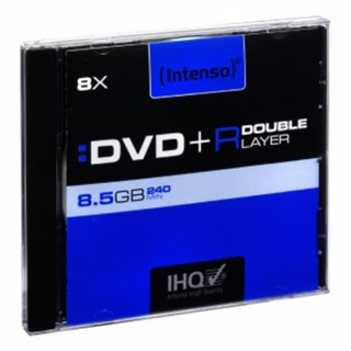 INTENSO DVD+R im Jewel Case 8,5 GB 8-fach Double Layer