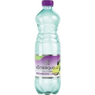 RÖMERQUELLE Emotion 6 Flaschen à 0,75 Liter Brombeere-Limette