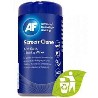 AF Bildschirm-Reinigungstücher SCR100T 100 Stück in der Dose