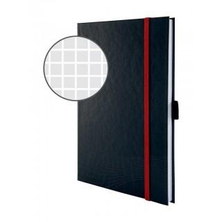 AVERY ZWECKFORM notizio Notizbuch 7027 mit Hardcover DIN A5 80 Blatt 90g/m² kariert dunkelgrau