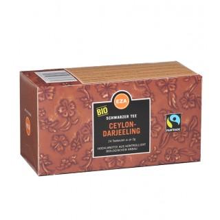 EZA Schwarztee Bio Ceylon-Darjeeling 24 Beutel