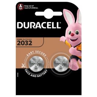DURACELL Batterie DL 2032 Lithium 3V 2 Stück