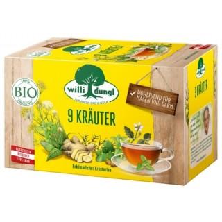 WILLI DUNGL 9-Kräuter-Tee Bio 20 Beutel