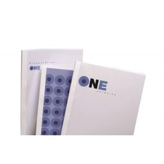 GBC Thermobindemappe Standard 100 Stück DIN A4 8mm weiß