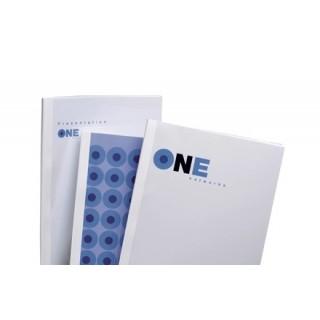 GBC Thermobindemappe Standard 100 Stück DIN A4 12mm weiß