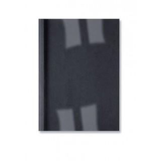 GBC Thermobindemappe LeatherGrain 100 Stück DIN A4 4mm schwarz