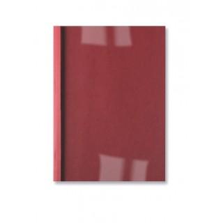 GBC Thermobindemappe LeatherGrain 100 Stück DIN A4 6mm rot