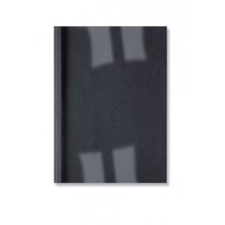 GBC Thermobindemappe LeatherGrain 100 Stück DIN A4 6mm schwarz