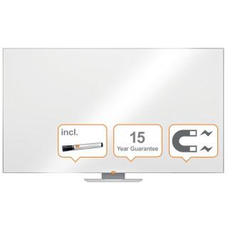 """NOBO Widescreen NanoClean™ Whiteboard mit Stahloberfläche 189 x 107cm (85"""") weiß"""