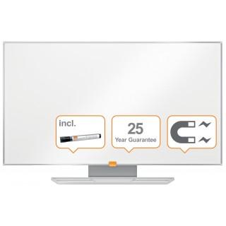 """NOBO Widescreen NanoClean™ Whiteboard mit Emailleoberfläche 90 x 51cm (40"""") weiß"""