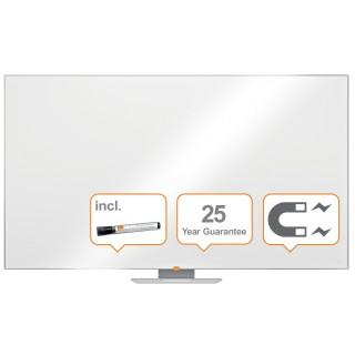 """NOBO Widescreen NanoClean™ Whiteboard mit Emailleoberfläche 189 x 107cm (85"""") weiß"""