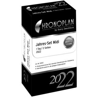 AVERY ZWECKFORM Jahresset Chronoplan 50531 Midi 788 Blatt für 2022