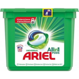 ARIEL Universalwaschmittel All-in-1 Pods 22 Stück