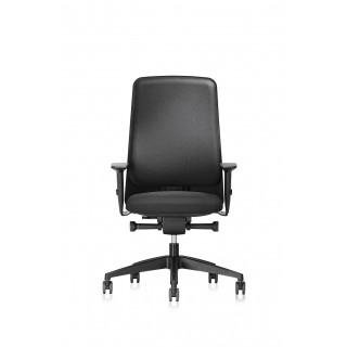 INTERSTUHL Bürodrehstuhl F140 gepolstert schwarz