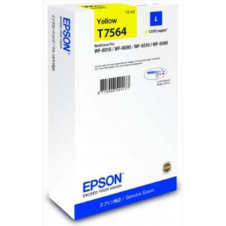 EPSON Tintenpatrone T756440 gelb