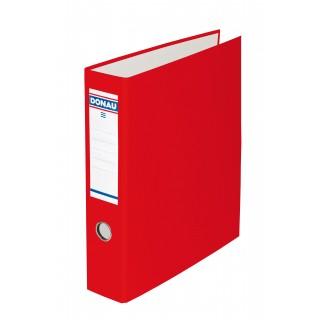 DONAU Bankordner 3972001 mit Doppelmechanik A4 7,5 cm rot