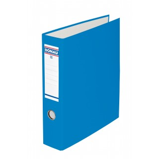 DONAU Bankordner 3972001 mit Doppelmechanik A4 7,5 cm blau