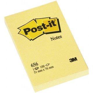 POST-IT Haftnotiz 51 x 76 mm 100 Blatt gelb