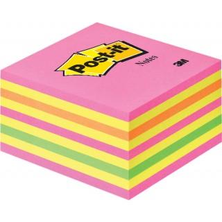 POST-IT Haftnotiz 76 x 76 mm 450 Blatt neonpink