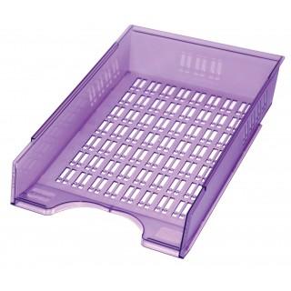 DONAU Briefablagekorb 7470188 Translux violett