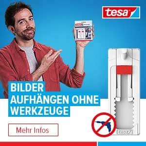 TESA Klebenagel - Bilder aufhängen ohne Werzeug!