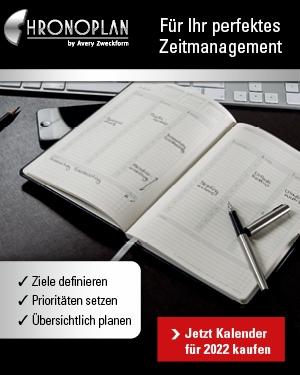 CHRONOPLAN - für Ihr perfektes Zeitmanagement!