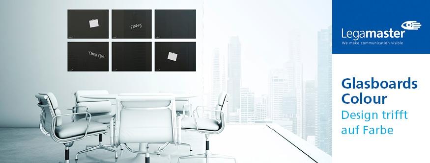 Glasboards: Design trifft auf Farbe!