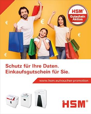 Schutz für Ihre Daten. Einkaufsgutschein für Sie.
