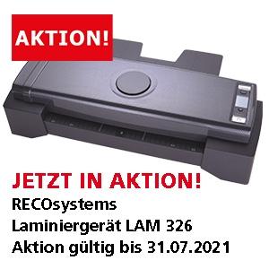 JETZT IN AKTION! Recosystems Laminiergerät LAM326