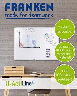FRANKEN U-Act! - Die nachhaltige Produktserie für Ihre Präsentation!