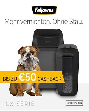 Bis zu € 50,- CASHBACK sichern!