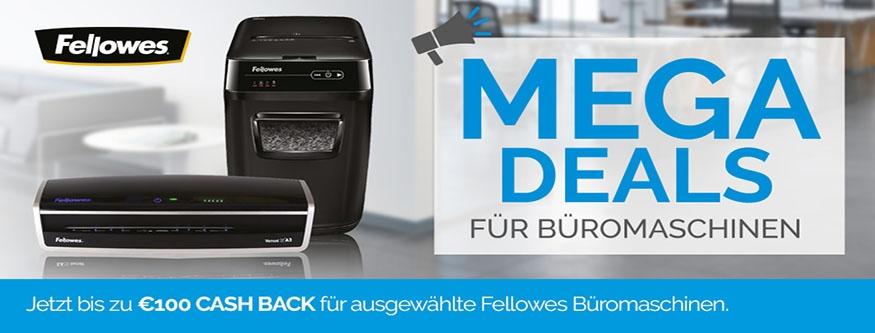 FELLOWES Megadeals für Büromaschinen