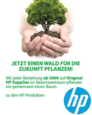 HP Partnerwald: Jetzt einen Wald für die Zukunft pflanzen!