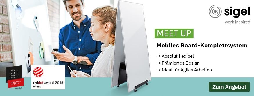 NEU! SIGEL - Mobiles Board-Komplettsystem