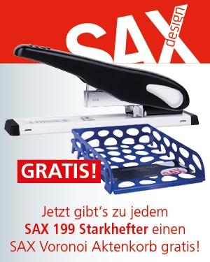 AKTION! SAX Krafthefter 199 + 1 SAX Voronoi gratis!