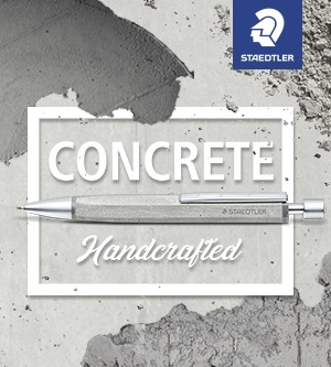 Concrete - handgefertigtes Schreiberlebnis