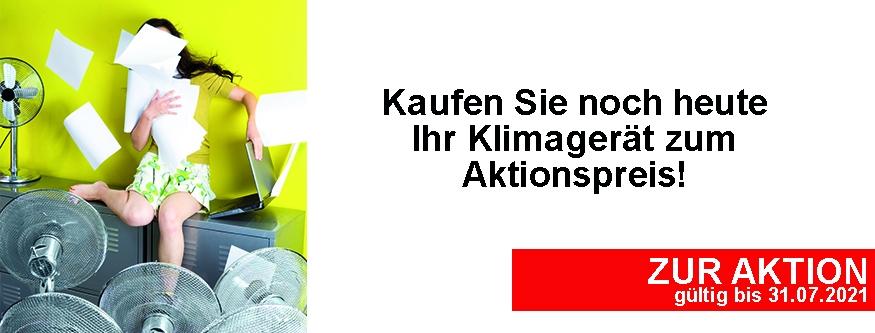Klimageräte zum Aktionspreis!