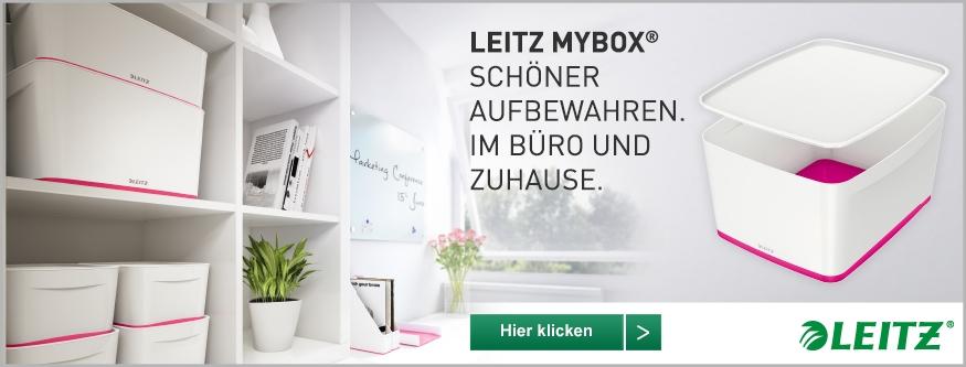 LEITZ MyBox - das modulare Aufbewahrungssystem