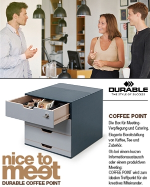 DURABLE Coffee Point Box - nice to meet