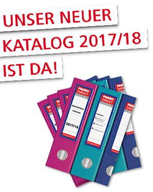Unser neuer Katalog 2017/18